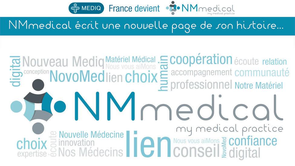 Ensemble pour une nouvelle étape – Mediq France devient NM Medical