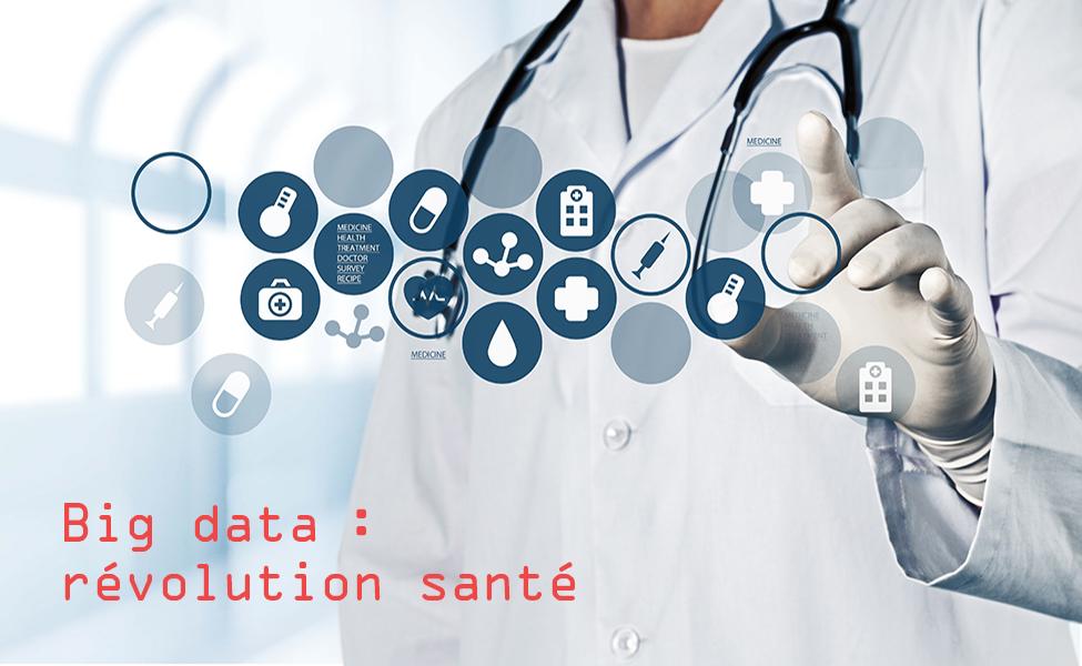 outils big data et main de médecin