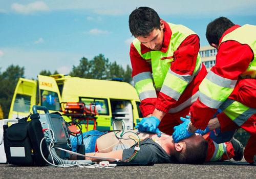 Defibrillateur premiers secours