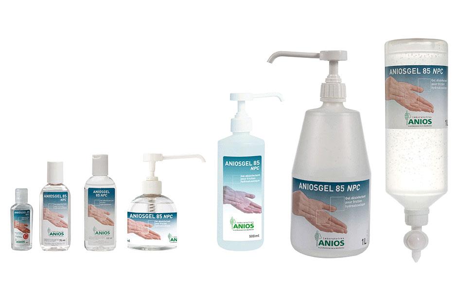 Solutions hydroalcooliques à utiliser en complément