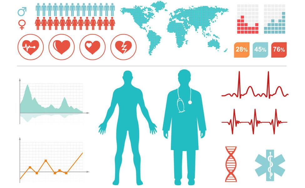 infographie répartition des médecins