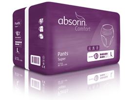 Un emballage d'Absorin slip