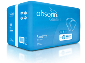 Une protection Absorin Sanette