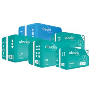 Des produits Absorin pour l'incontinence modérée