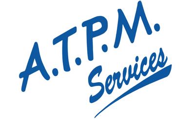 Le logo de l'entreprise ATPM services