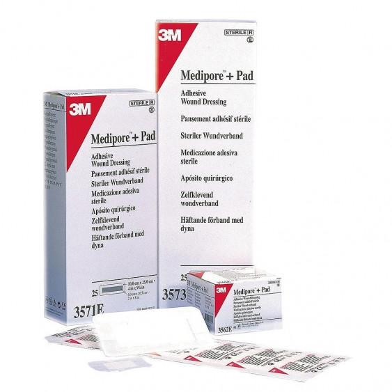 Medipore + Pad pansements stériles 3M