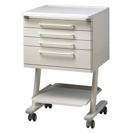 meuble 4 tiroirs rc4 epoxy blanc