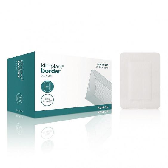 Pansement stérile Kliniplast Border - 5x7cm Boîte de 50