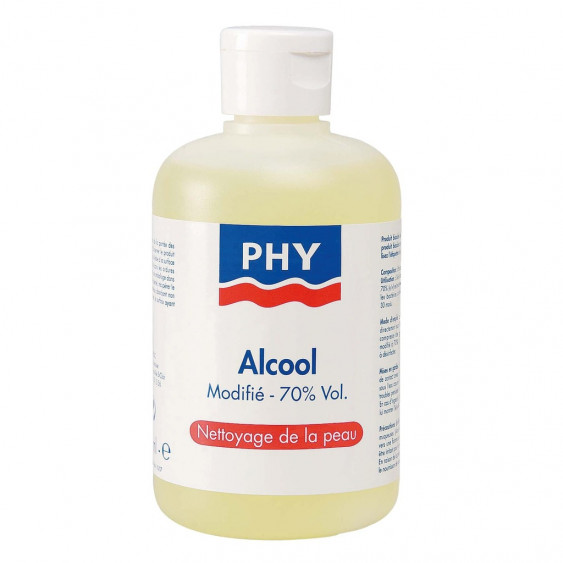 ALCOOL MODIFIE 70% PHY 250ML