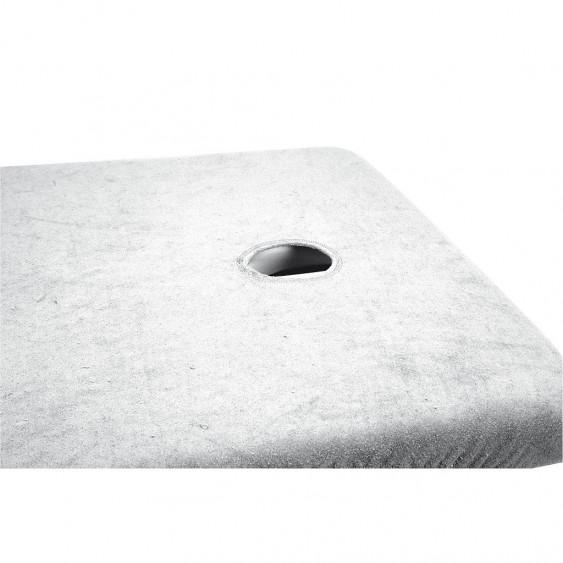 Housses éponge pour tables de massage avec ouverture faciale