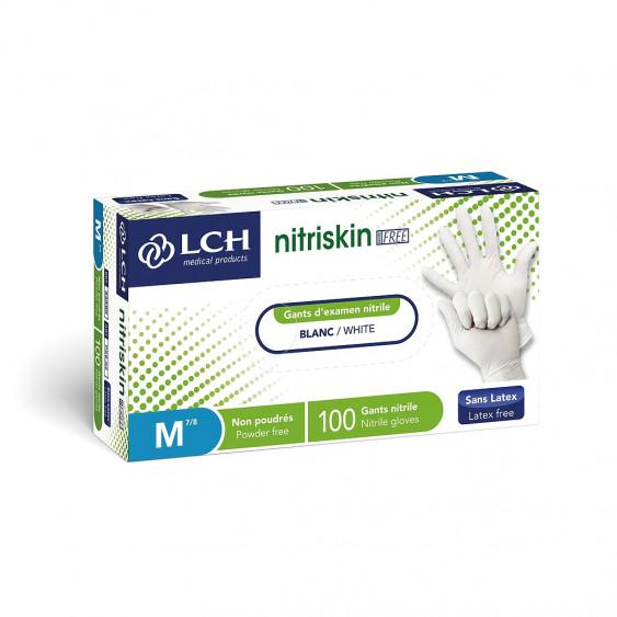 GANTS NITRISKIN EVOL BLC NP 7/8