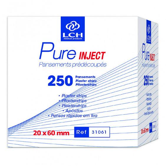 PANSEMENT  PURE INJECT 6X2CM B/250