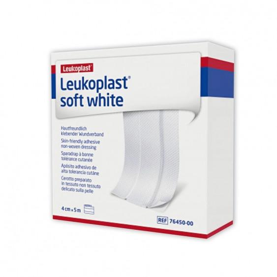 Pansement adhésif pour peaux sensibles Leukoplast Soft White / Covermed blanc