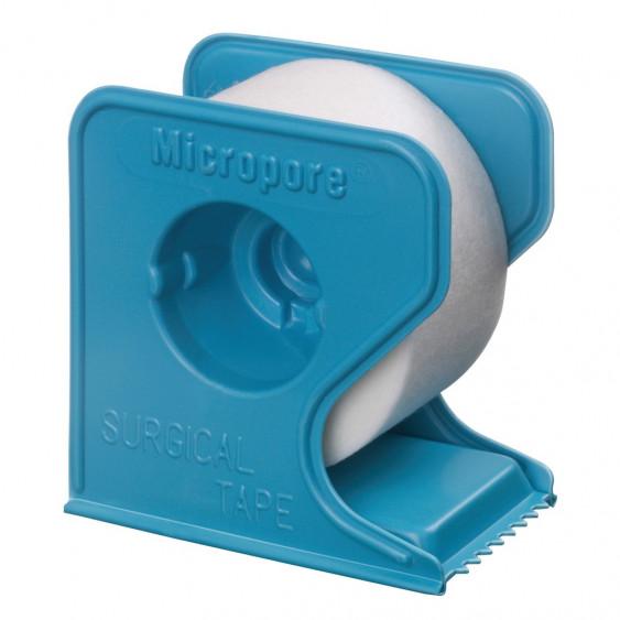 MICROPORE SPARAD 9m14X2.5cm devid bleu/1