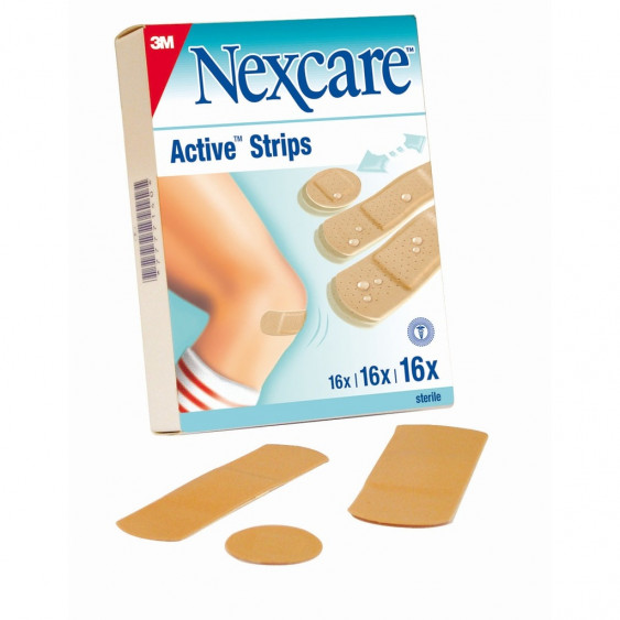 Pansements Active Strips Nexcare