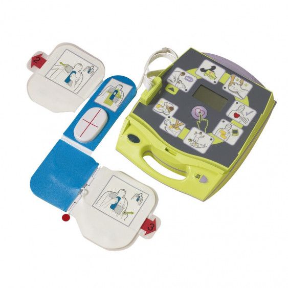 DEFIB. AED+ 1x ELECTRODE CPRD +10 PILES