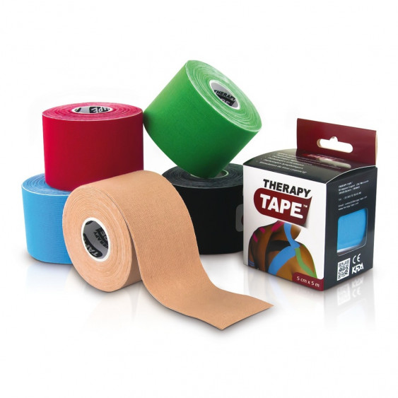 Bandes de taping Therapy Tape - 5 coloris