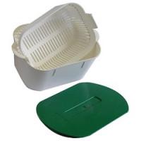 Bacs de trempage - instrubac 2 litres avec couvercle sans fente