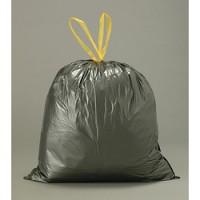Sacs poubelles à liens coulissants 50L