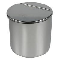 Boîte à coton avec couvercle - capacité 1L