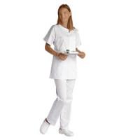 Tunique médecin/ infirmière manches courtes - taille 44/46