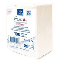 Compresses non stériles, non tissées, 10x10cm, 40 g/m², 4 plis