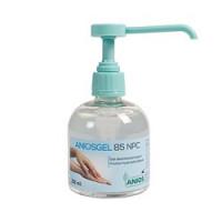 Gel hydroalcoolique Aniosgel 85 NPC - Flacon de 300 ml avec pompe doseuse