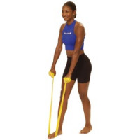 Bandes d'exercice Thera Band<br> - Jaune 5,5 m