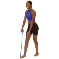 Thera Band - Bandes d'exercice Argent 5,5 m