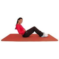 Tapis d'exercice Éco - Rouge 1,8x0,6m