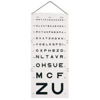 Echelle optométrique Monoyer - 5 m