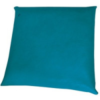 Coussin oreiller 44 X 44 cm - Turquoise