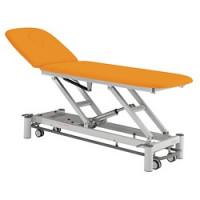 Table de Massage 2 plans Picasso Club avec accessoires  - Châssis blanc sellerie mangue