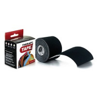 Bandes de taping Therapy Tape 5cm x 5 m Noir
