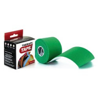 Bandes de taping Therapy Tape 5cm x 5m Vert