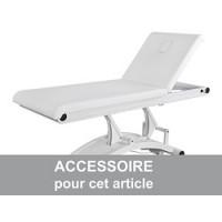 Option pour table de Massage Malaga - Commande au pied