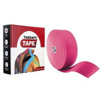 Bandes de taping Therapy Tape 5cm x 5m Rose