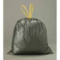 Lot de 20 sacs poubelles à liens coulissants 30 L