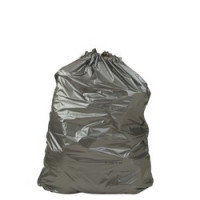 Sacs poubelles à liens coulissants