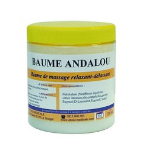 BAUME DE MASSAGE ANDALOU 250 ML