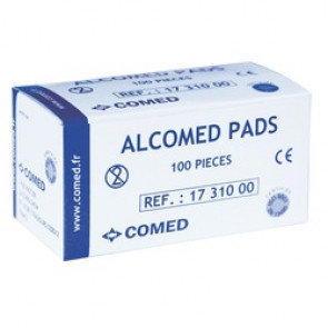 TAMPONS ALCOOL ALCOMED /100