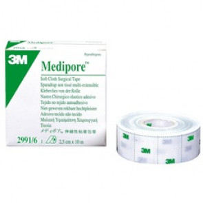 MEDIPORE LINER 10 M X 2.5 CM