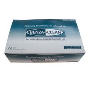 LINGETTES NETTOYANTES  BENZA-CLEAN