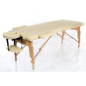 TABLE MASSAGE CLASSIC 2 192X70 CM CREME