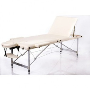TABLE MASS. ALU PROCLIVE CREME 192X70CM