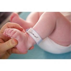 Bracelet d'identification pour bébé x 100