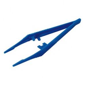 PINCE ANAT PLAST BLUE 128MM STER.UU