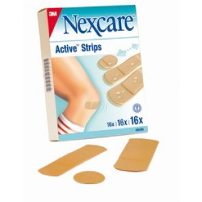 Pansements Active Strips Nexcare