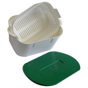 Bacs de trempage - Bac anios 2 litres blanc