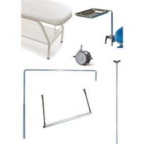 Accessoires pratiques pour divan Lemi 4, Lemi 3, Lemi 2, Lemi 4 Bi-Zak, Lemi 3 Bi-Zak, Lemi 2 Bi-Zak, Synchro Bi-Zak, Lemi Med, Tesera, Hair Tech, Gyno plus, Gyno, Hydrogyno, Ke Treat